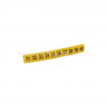 """EZ-5/""""31""""-""""40"""" - Обозначители ПВХ для клемм, кнопок упак {100шт}"""