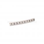 """EZ-5B/""""1""""-""""10"""" - Обозначители ПВХ для клемм, кнопок упак {100шт}"""
