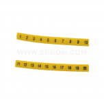 """EZ-5B/""""32"""" - Обозначители ПВХ для клемм, кнопок упак {100шт}"""