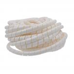 WSN 10 V2 - Тросик спиральный (оплётка проводов), пластик рул {10м}