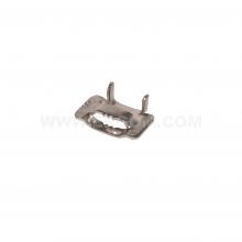 A304/12 - Застёжка стальная для бандажей (стяжек) в катушках упак {100шт}
