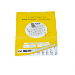ZS 14x120/CY - Знаки клеящиеся, ПВХ, для обозначения аппаратов, зажимов упак